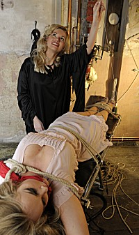 Naughty Blonde Tied Up 112